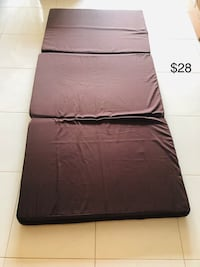 black leather tufted bed frame Simei