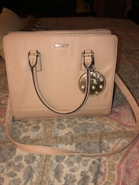 nude-colored Nine West leather two-way handbag Livermore, 94551