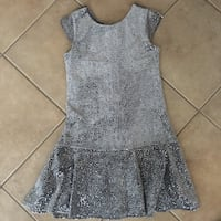 Girls Children's Place size 10-12 sparkly dress  551 km