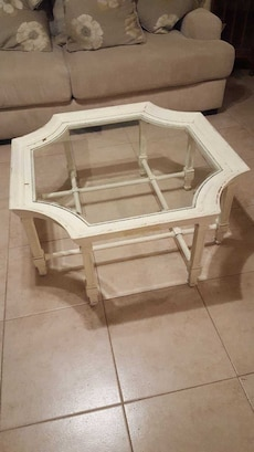 Unique White Coffee Table