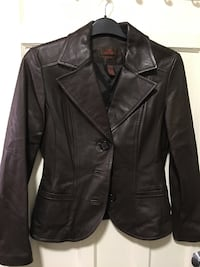 Danier Chocolate Brown Leather Jacket Toronto, M6E 3C9