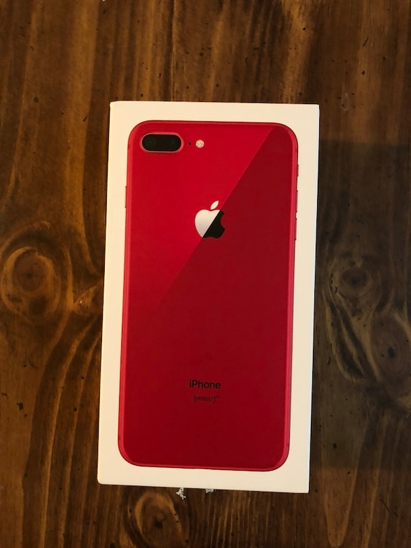 184b7242cad Used Product red iPhone 8 Plus red at t unlocked for sale in East Point