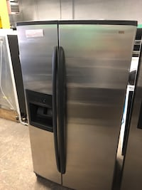KENMORE stainless steel side by side