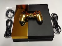 black Sony PS4 console with controller ABILENE