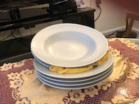 New large presentation dishes white Rockville, 20850