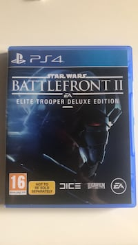 Ps4 star wars battlefront 2 delux edition Alanya, 07400
