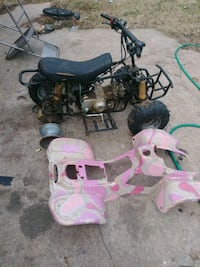 110 quad 50cc moped 110 pit 6ike i changed the engine on Baltimore, 21206