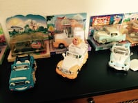 Chevron miniature toy collector cars and trucks