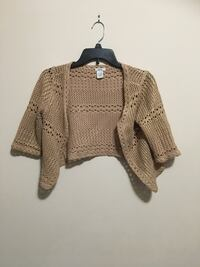 Gold Cardigan - small