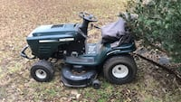 Green craftsman ride-on mower 1350 mi