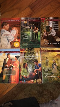 6 love inspired books. These are a wonderful read! $10 290 mi