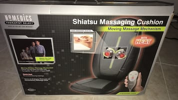 Homedics SBM-200H Therapist Select Shiatsu Massaging Cushion with Heat
