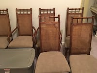Six Dining room chairs Laurel, 20723