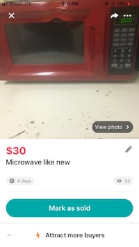 Like new microwave Jackson, 39154