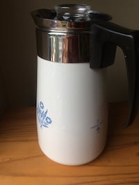 Vintage Corning ware stovetop coffee percolator Châteauguay, J6J 5H9