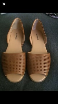 CALL IT SPRING - Pair of tan leather flats Toronto, M6E 2X5