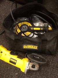 yellow and black DeWalt angle grinder Hagerstown, 21740