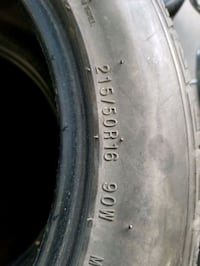 used tires  215/50 R16