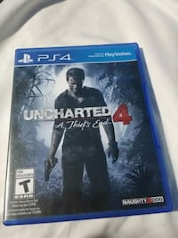 Uncharted 4 PS4 game case Amherstview, K7N 1B7