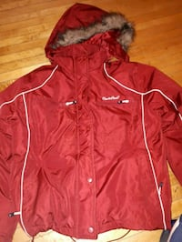 red zip-up winter/fall coat  Winnipeg, R2W 0S1
