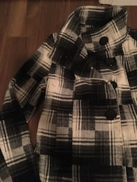 black and white plaid button-up jacket Barrie, L4M 3M8