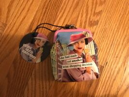 Vintage Revisited Anne Taintor Coin Purse