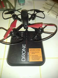 black and red quadcopter drone LaFayette, 30728