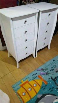 white wooden 4-drawer chest Rochdale, OL16 3AH