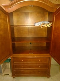 brown wooden dresser with mirror Ottawa, K2J 4G7