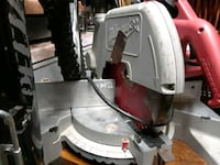 Red and gray miter saw San Francisco, 94112