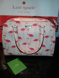 white and pink Hello Kitty tote bag null