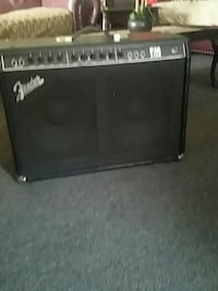 black and gray guitar amplifier Los Angeles, 90043