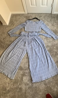 Free People crop top and palazzo pants New Orleans, 70123