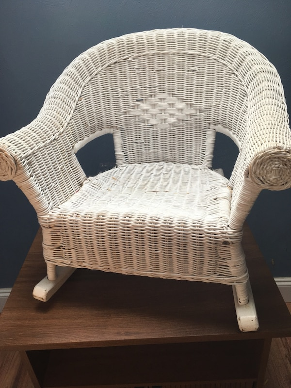 Child's Wicker Chair