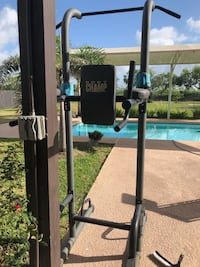 Black and gray exercise equipment Brownsville, 78526