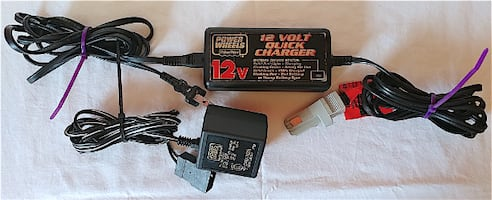 Power Wheels Battery Charger 12 Volt Type N Connector