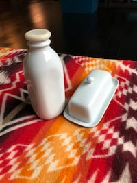 Butter dish and Milk Jar Los Angeles, 90017