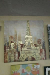 Eiffel Tower, Paris painting Las Vegas, 89115