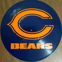 Laser Cut Record with the Bears logo 2055 mi