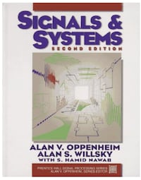 Signals & Systems - 2E Kitchener, N2P 2L8