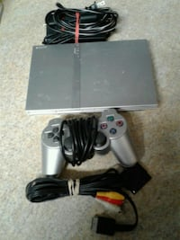 gray Sony PS2 console with controller Auburn, 36832