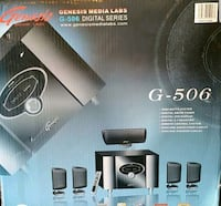 Genesis home theater 5.1 surround system Toronto, M1B 5X1