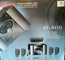 Genesis home theater 5.1 surround system