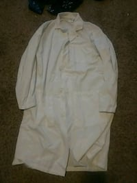 Small white polyester lab coat Big Rapids, 49307