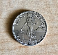 1944 Fifty Cents Silver Coin. Anaheim, 92801