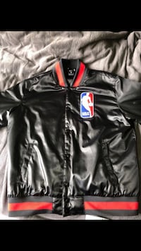 NBA x Nike SB Polyester Button Up Bomber Jacket