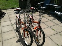 Two fold up bicycles London, N6H 5H6
