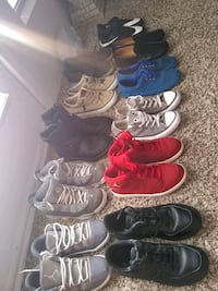 Boys shoes many name brand Carrollton, 75006