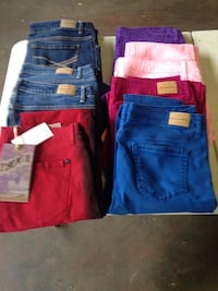 blue and red denim bottoms Knoxville, 21758