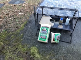Small animal/guinea pig cage